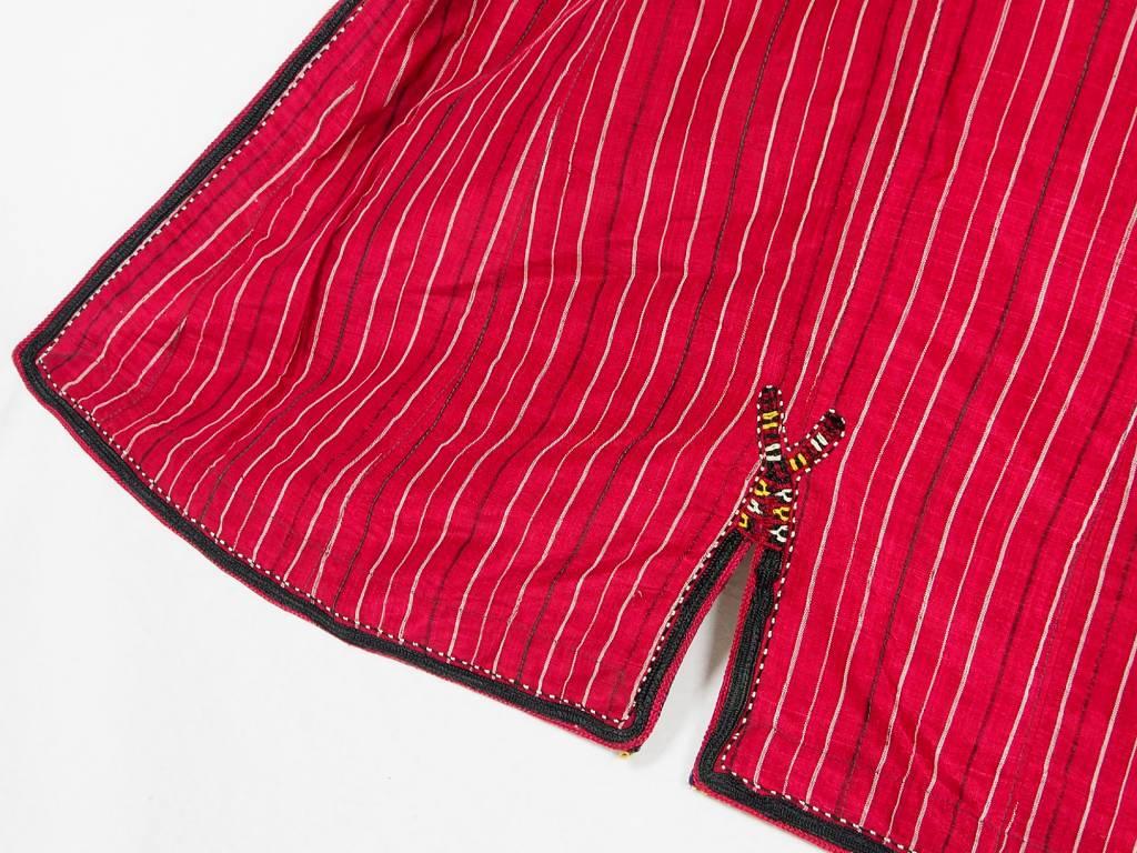 Turkmen antique silk Chapan  coat Chirpy Mantel khalat No:18/1