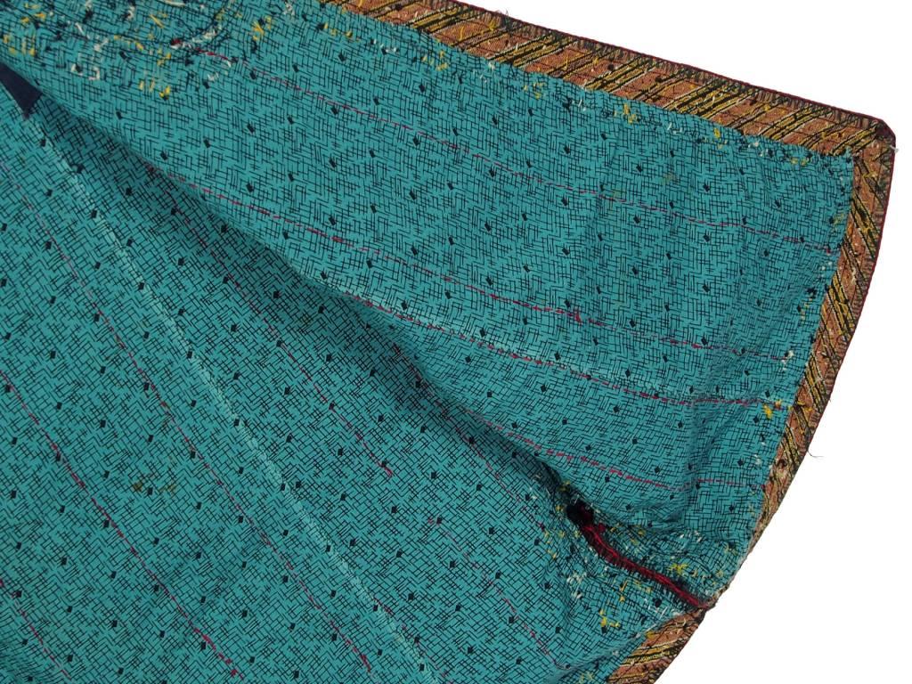 Turkmen antique silk Chapan  coat Chirpy Mantel khalat No:18/13