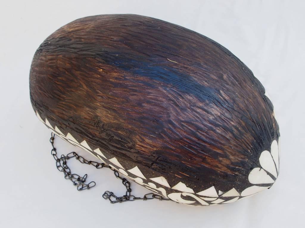 antike  Sufi Dervash Holz Kashkool  Nr:7