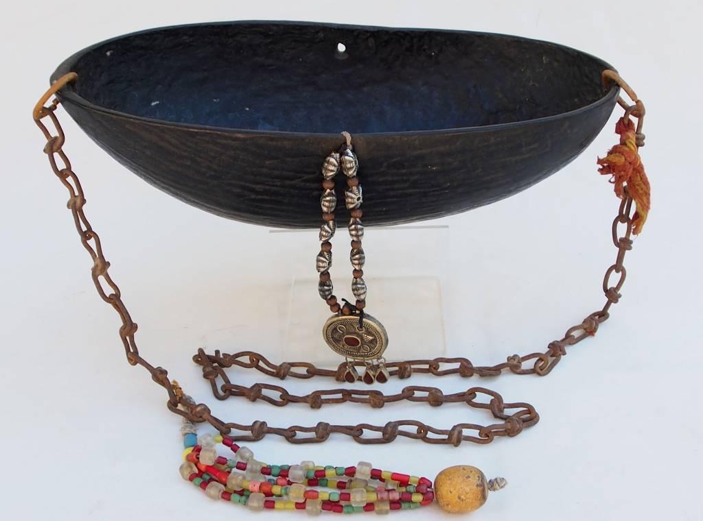 antike  Sufi Dervash Coco de mer Kashkool  Nr:E