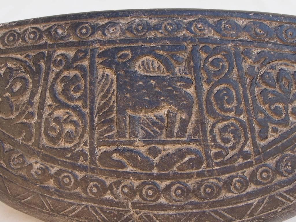 antike  Sufi Dervash Speckstein  Kashkool  Nr:2