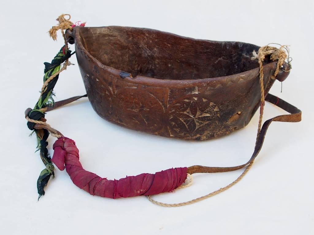 antike  Sufi Dervash Holz Kashkool  Nr:2