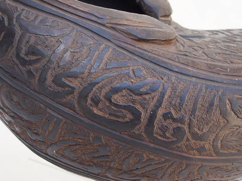 antike  Sufi Dervash Holz Kashkool  Nr:6