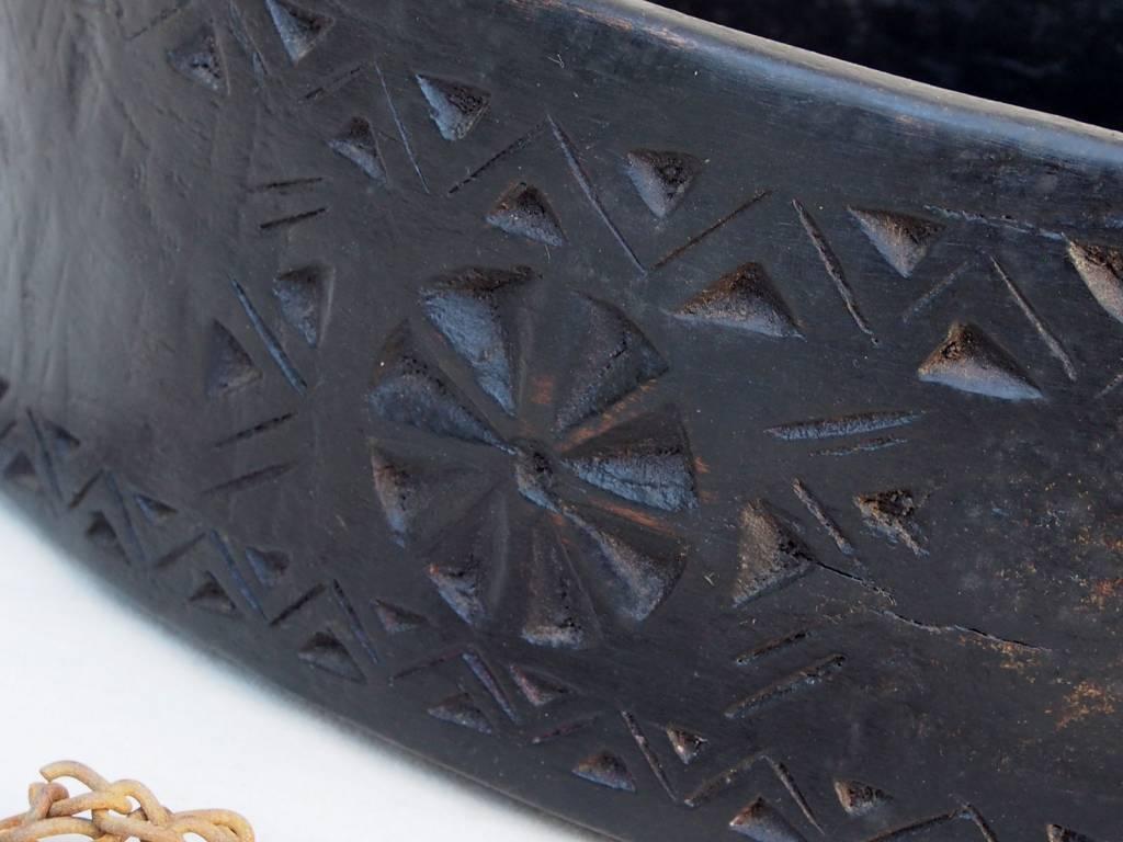 antike  Sufi Dervash Holz Kashkool  Nr:3