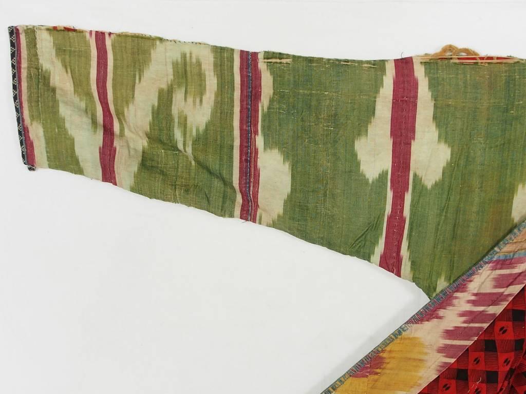 Antike Ikat mantel aus Usbekistan No:18/25