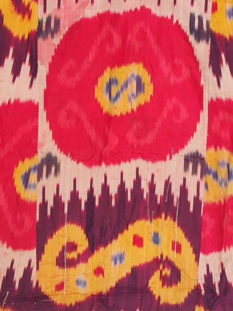 Antike Ikat mantel aus Usbekistan No:18/28
