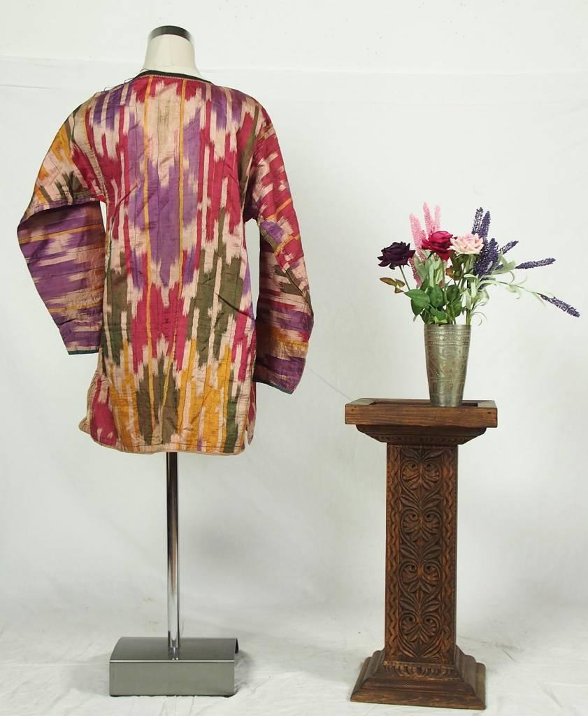 Antike Ikat Mädchen Kleid aus Usbekistan No:18/39