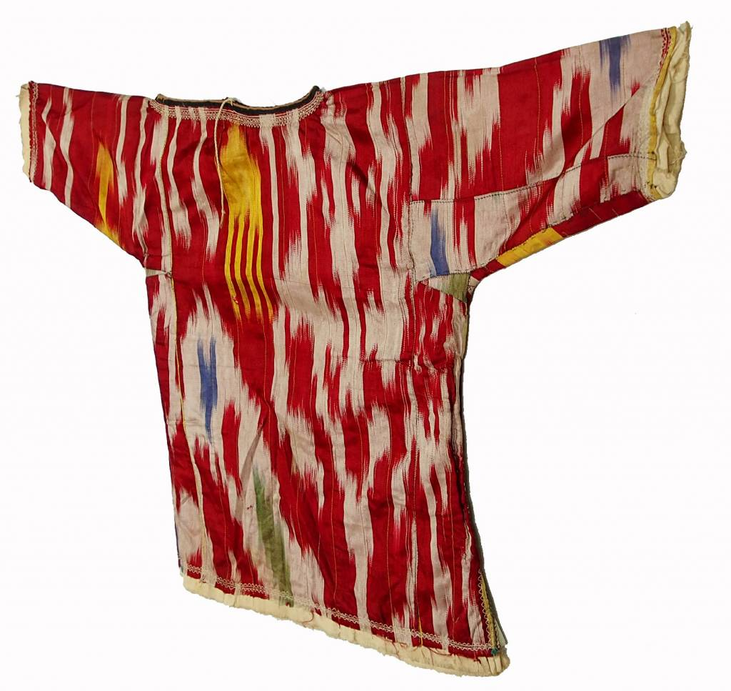 Antike Ikat baby Kleid aus Usbekistan No:18/40