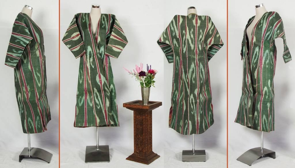 Antike Ikat mantel aus Usbekistan No:18/31