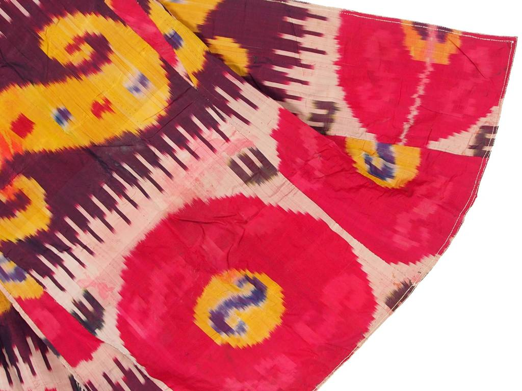 Antike Ikat mantel aus Usbekistan No:18/32