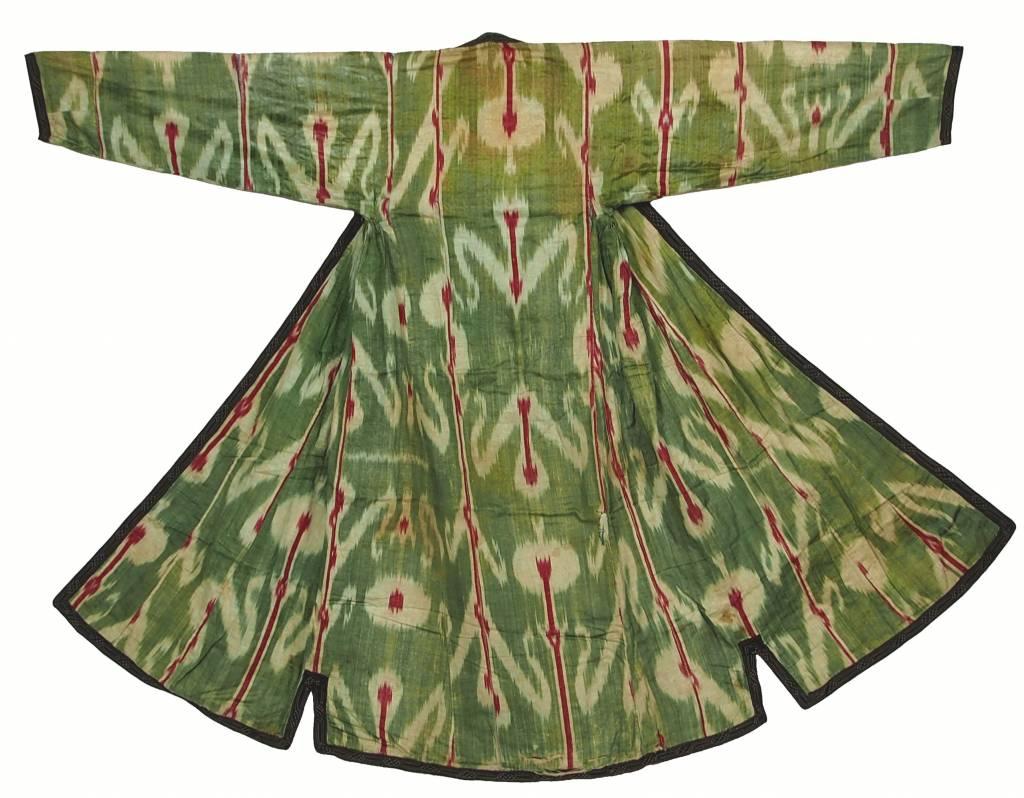 Antike Ikat mantel aus Usbekistan No:18/36