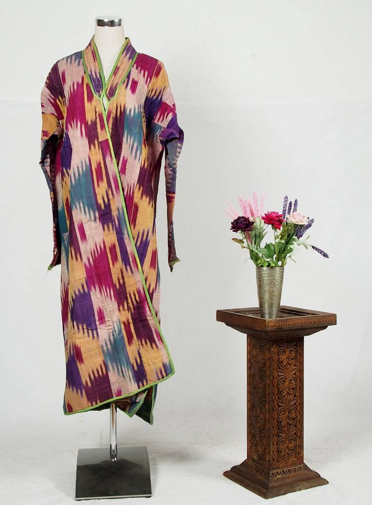 Antike Ikat mantel aus Usbekistan No:18/37