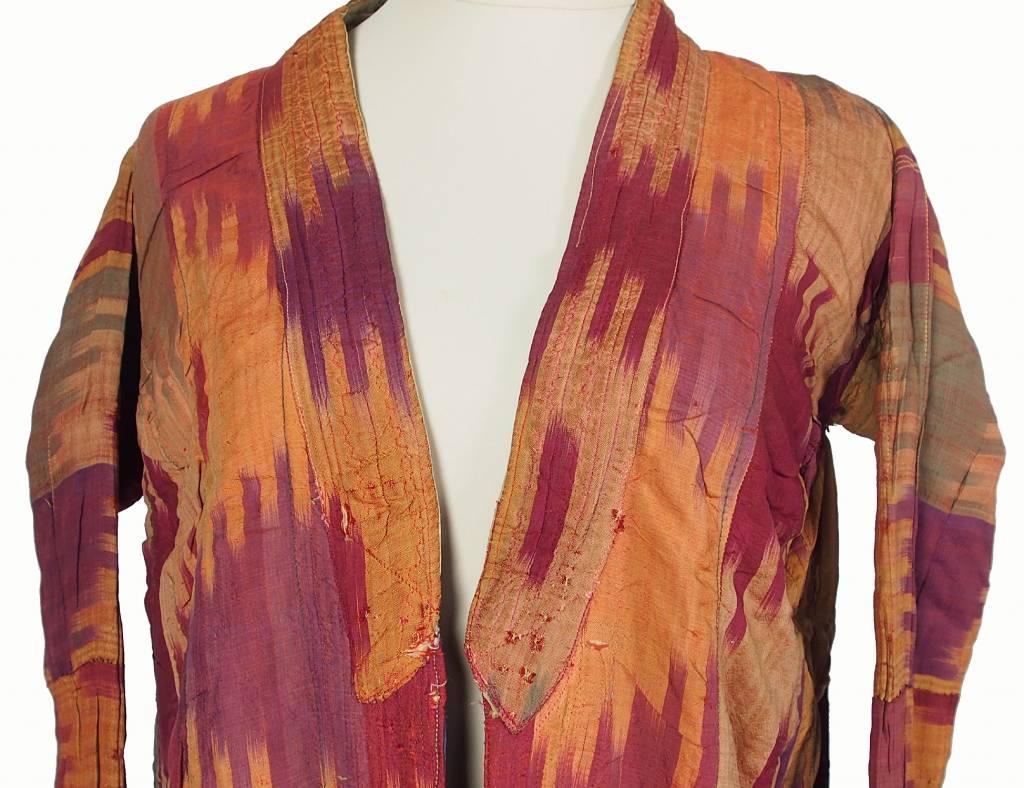 Antike Ikat mantel aus Usbekistan No:18/38