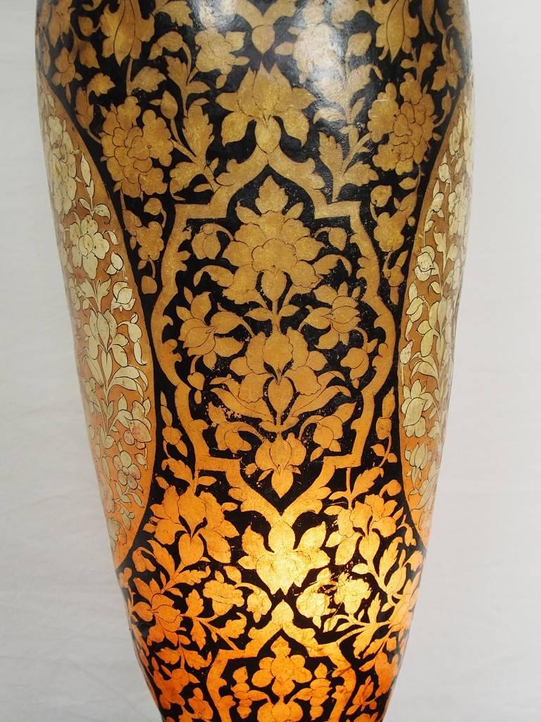Antik orientalische handbemalte Lampe Kamelleder Tischlampe Nachttischlamp Tischleuchte Nachtlampe Stehleuchte stehlampe Handarbeit Pakistan