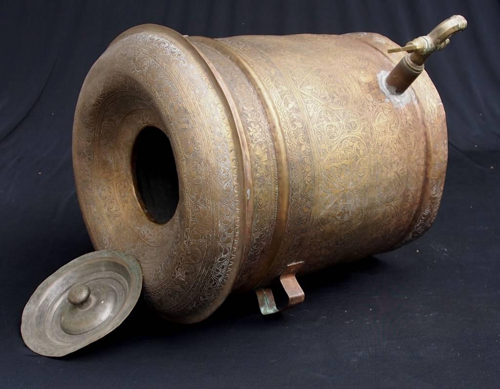 Antique brass samovar from Afghanistan antik messing wasserkocher No: 18/A