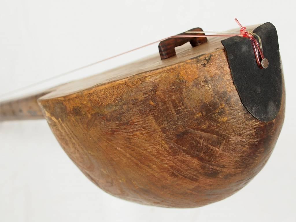 antik orientalische nomaden musikinstrument Afghanistan Dotar Dutar dambure 18-M