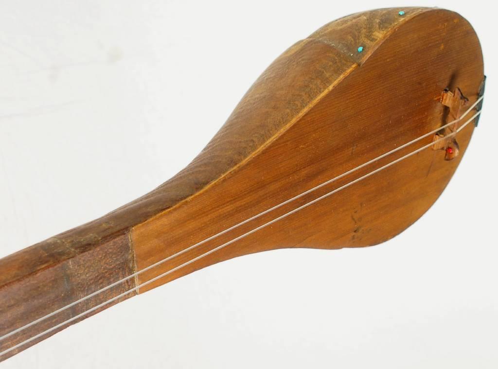 antik orientalische nomaden musikinstrument Afghanistan Dotar Dutar dambure 18-P