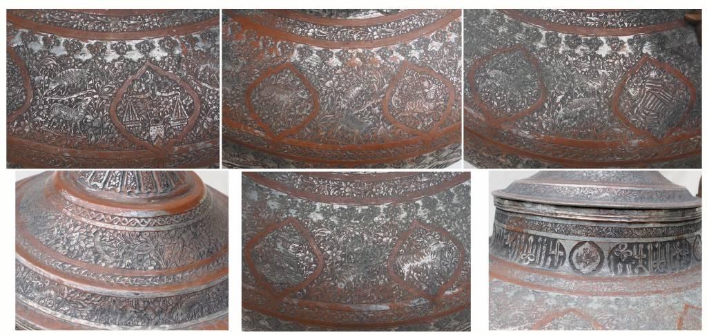 antike  riesige  Kupfer Kanne  XXL