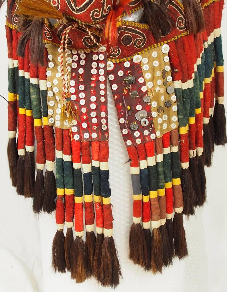 antique Uzbek wedding camel headdress from Afghanistan