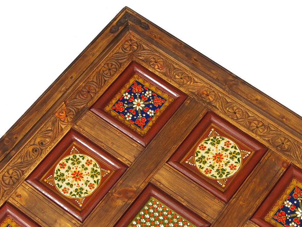 100x100 cm Massivholz  Wohnzimmer Tisch PJ/D