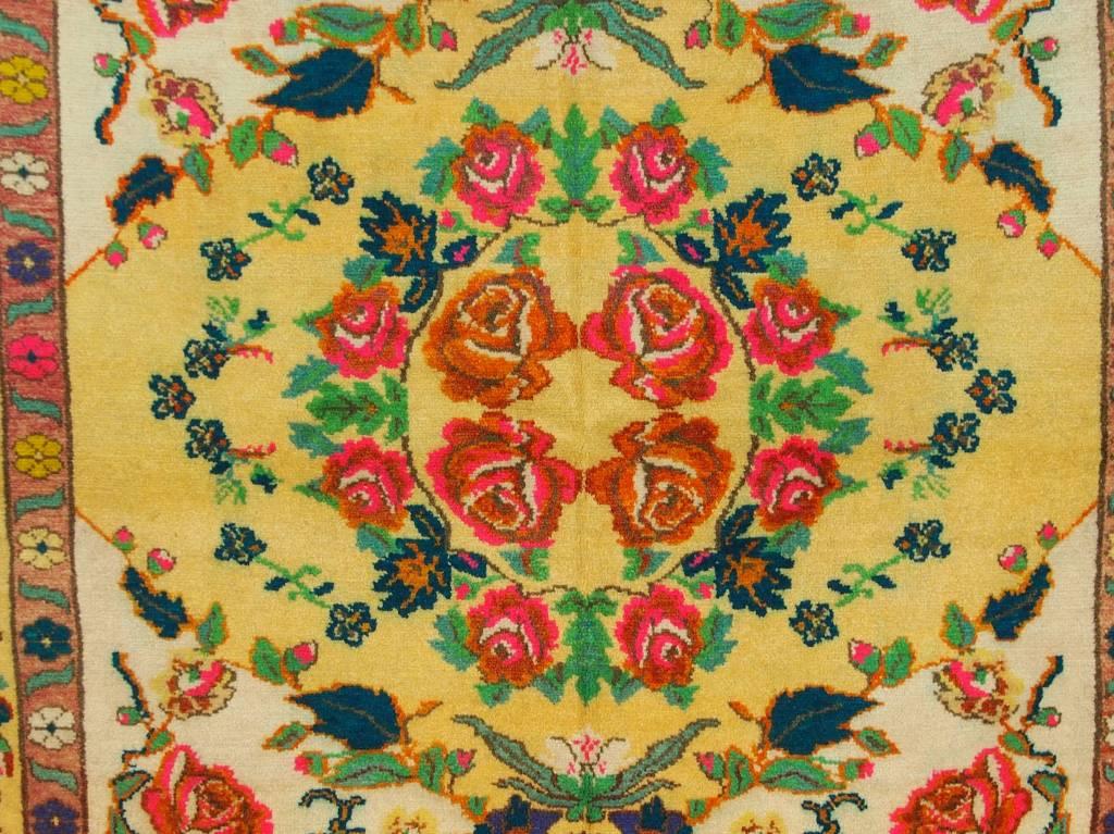 290x170 cm sehr seltener antike handgeknüpfte orientteppich nomad rug Carpet Rosen Teppich Nr:19/1