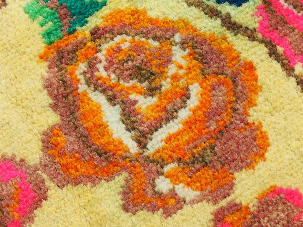 Bukhara  290x170 cm sehr seltener antike handgeknüpfte orientteppich nomad rug Carpet Rosen Teppich Nr:19/1