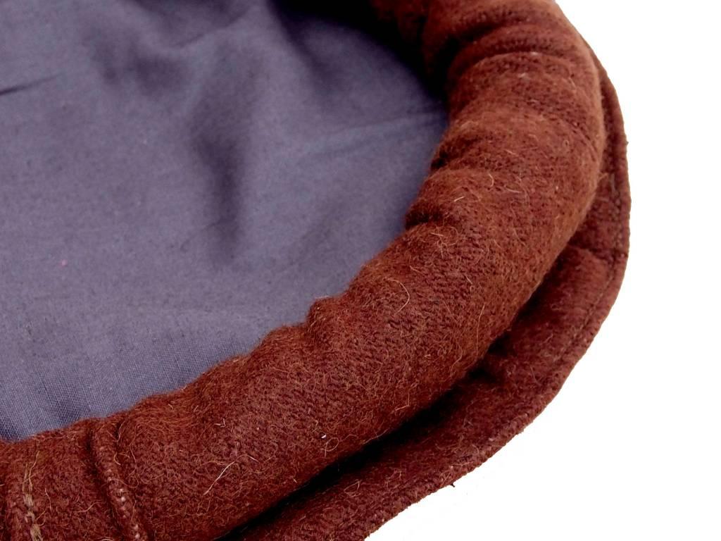 Original Afghanische Premiumqualität Afghan Kopfbedeckung Pakol Mütze wollomütze Pakistan   Braun
