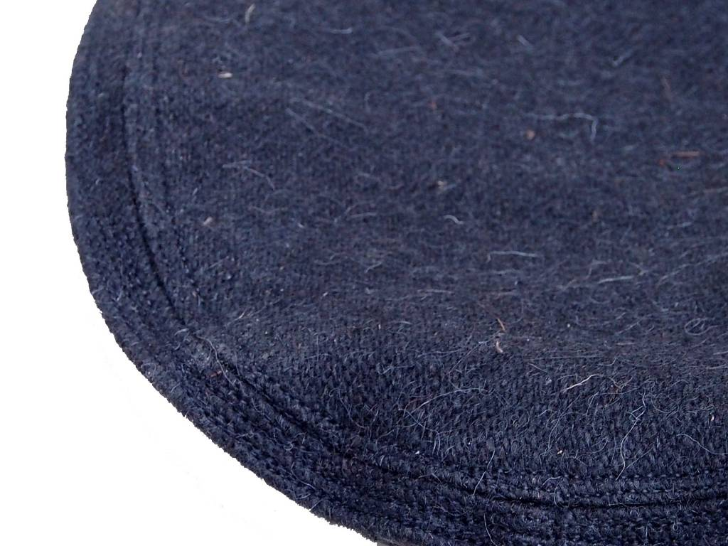 Original Afghanische  Afghan Kopfbedeckung Pakol Mütze wollomütze Pakistan Schwarz