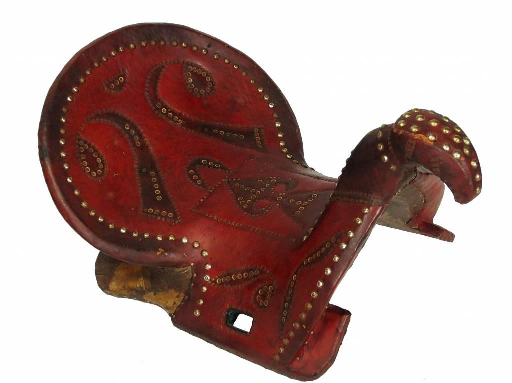antik Orient Turkmen Uzbek Pferdesattel buzkashi Reiterspiel Sattel aus Nord Afghanistan Nr. HH/1