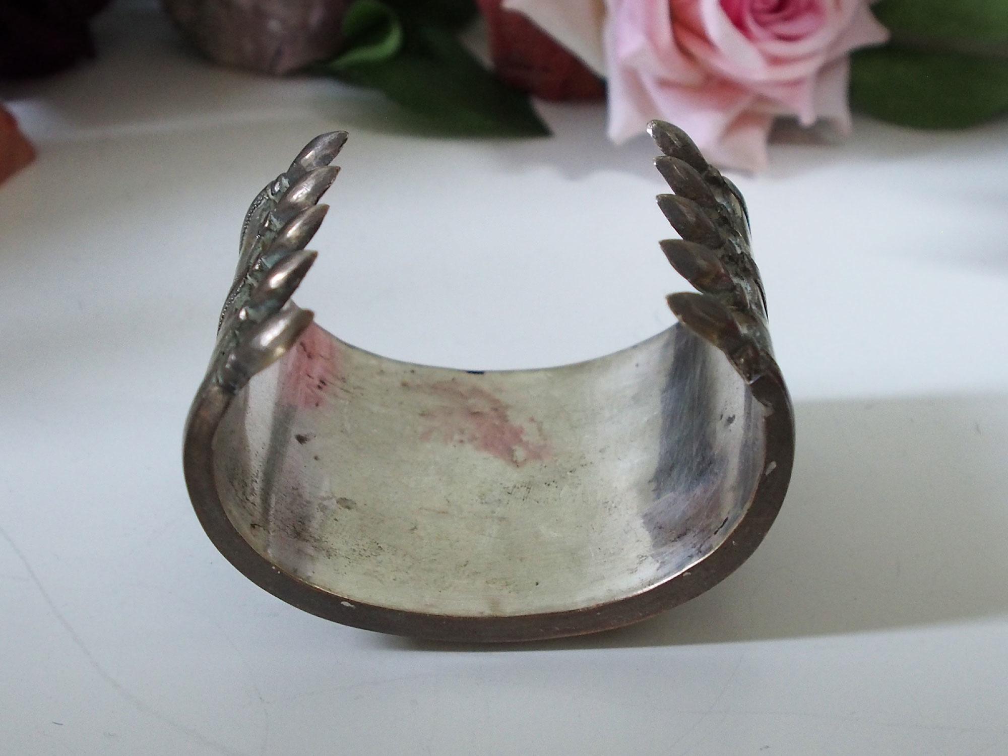 Turkmenische Tekke - Silber Armreif  (Bilezik) Nr:19