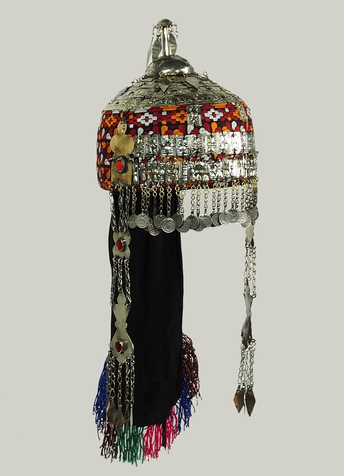 Turkmenische Hochzeit kopfschmuck headdress  19/ F