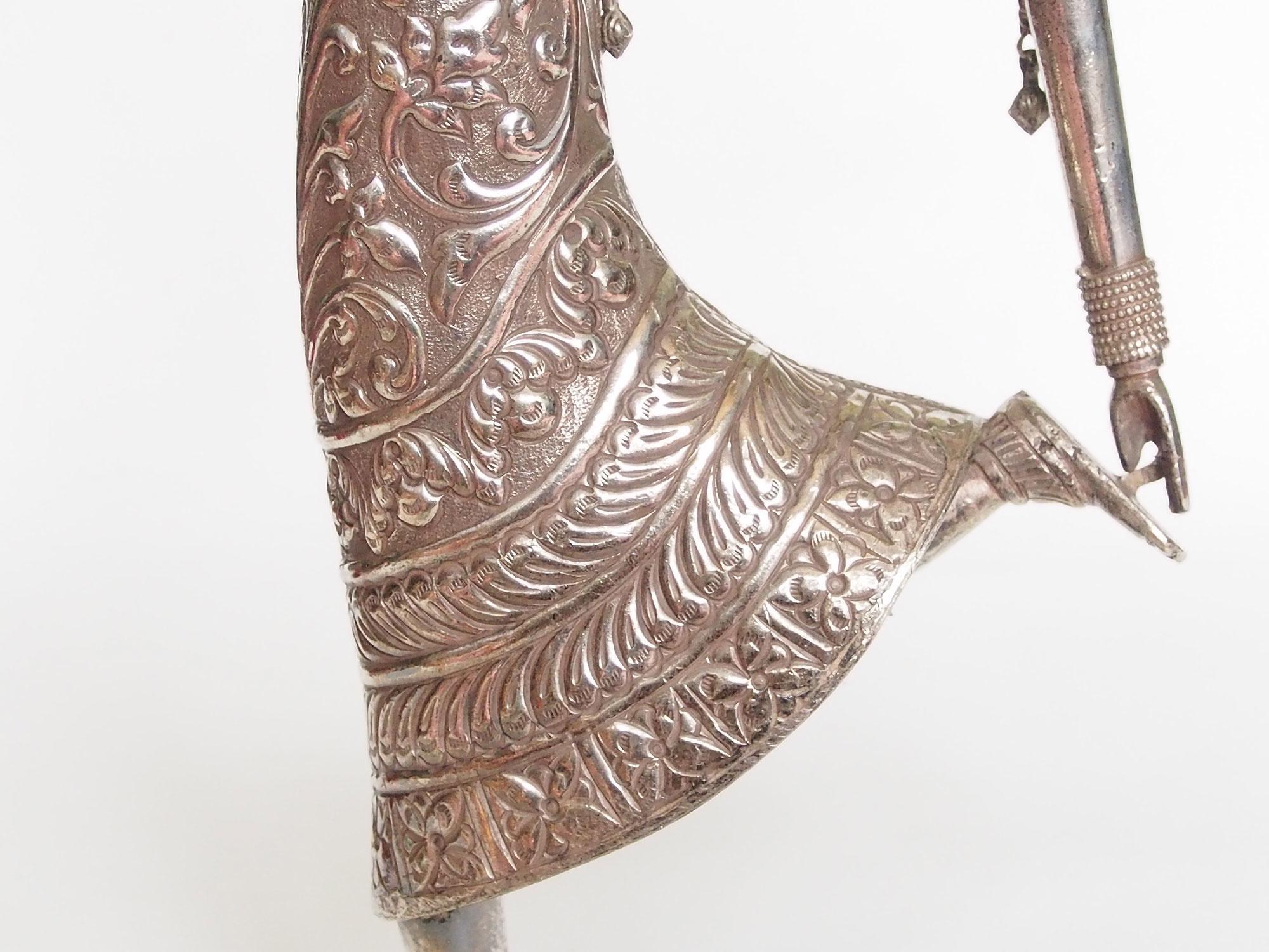 Antik Silber tänzerin aus indien