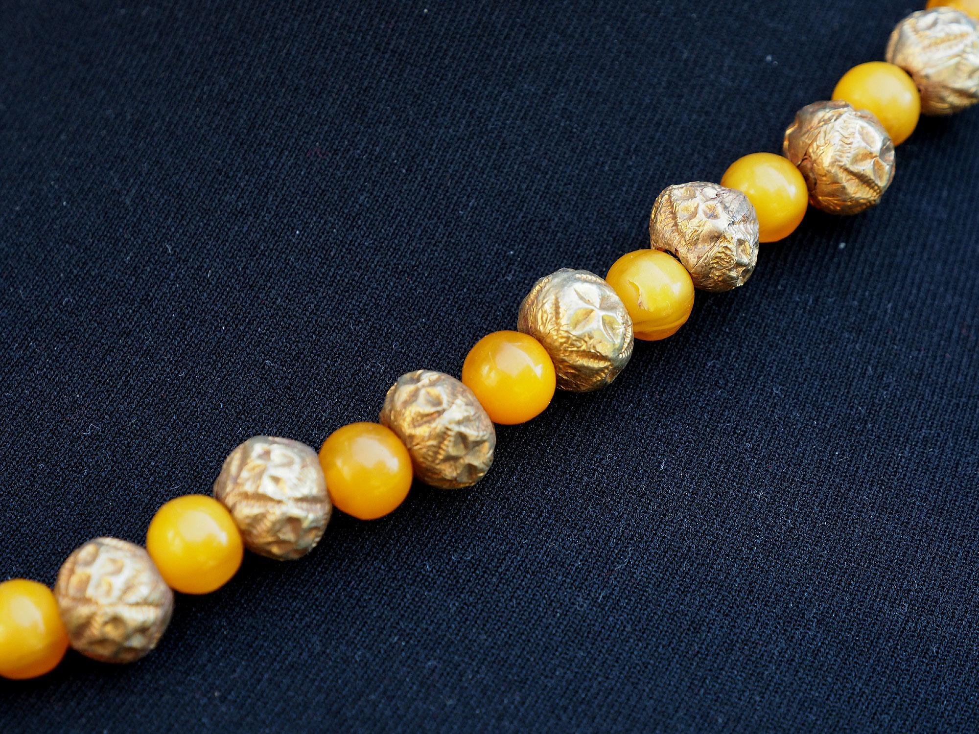 Ethnic Turkmen tribal  silver  necklace Kette Nr:A