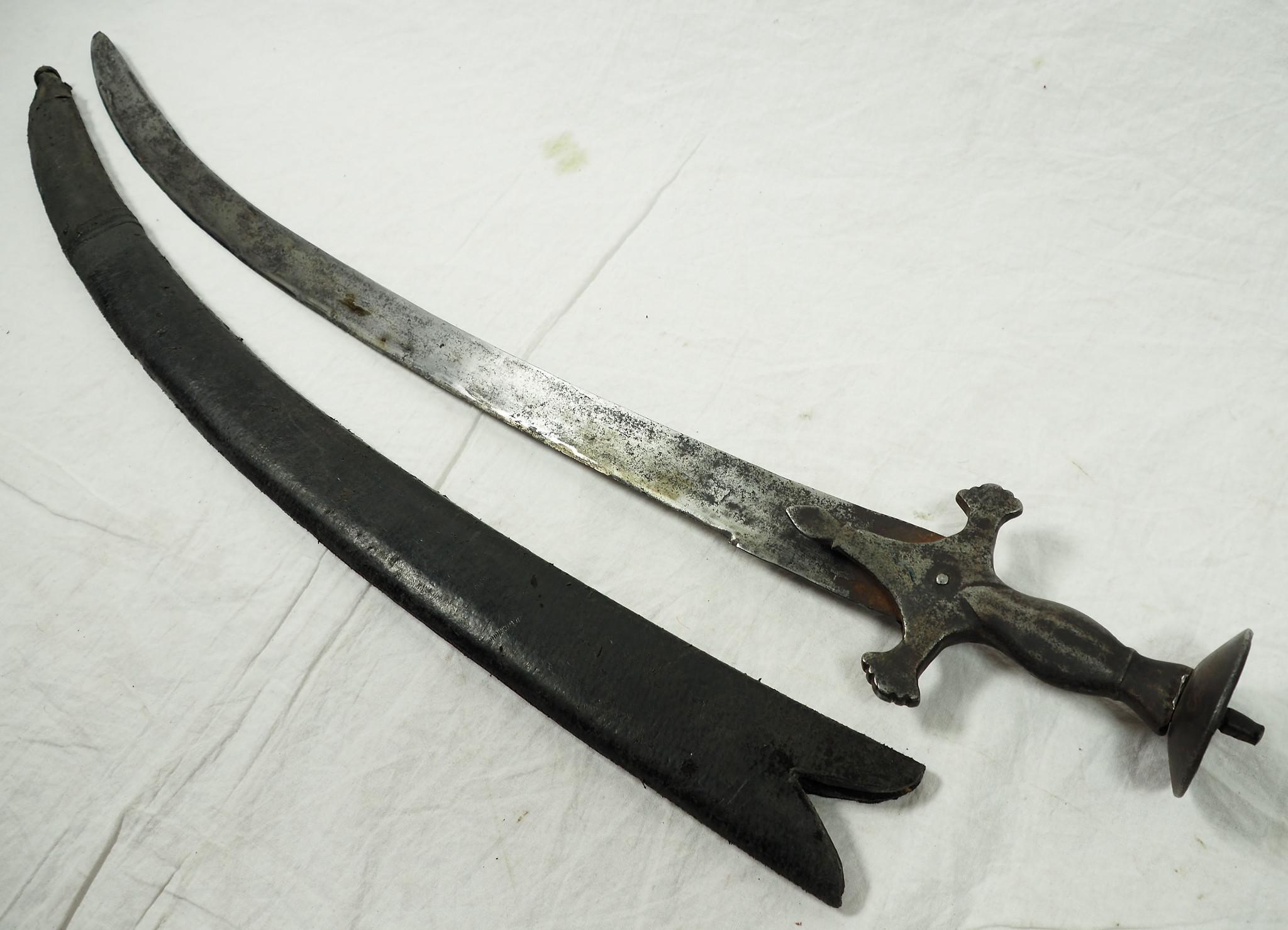Antique islamic Sword Shamshir from Afghanistan No: 19/G