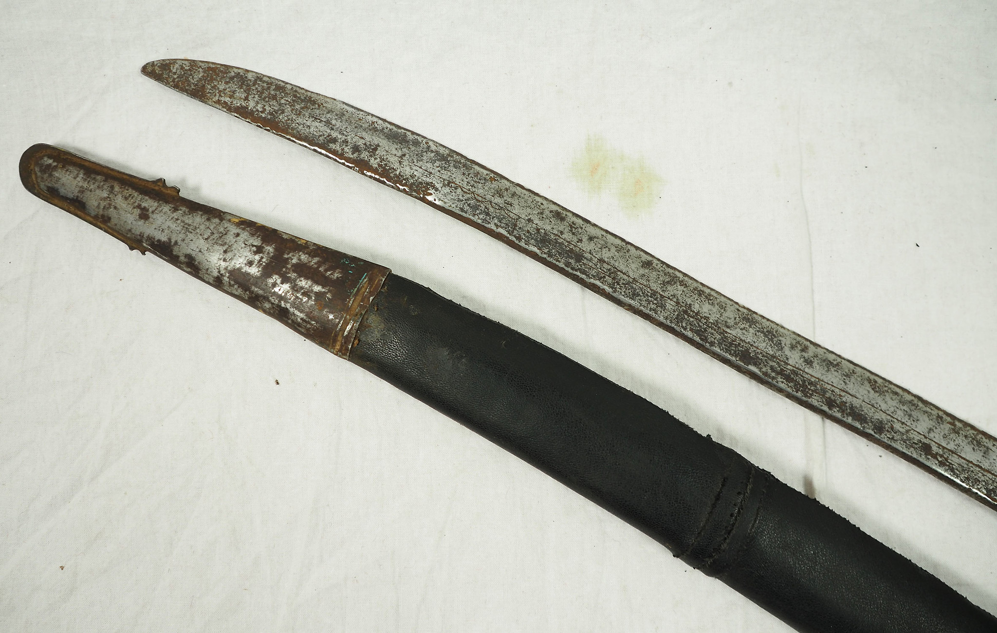 Antike Säbel messer schwert shamshir sword Knife aus Afghanistan Nr:19/ H