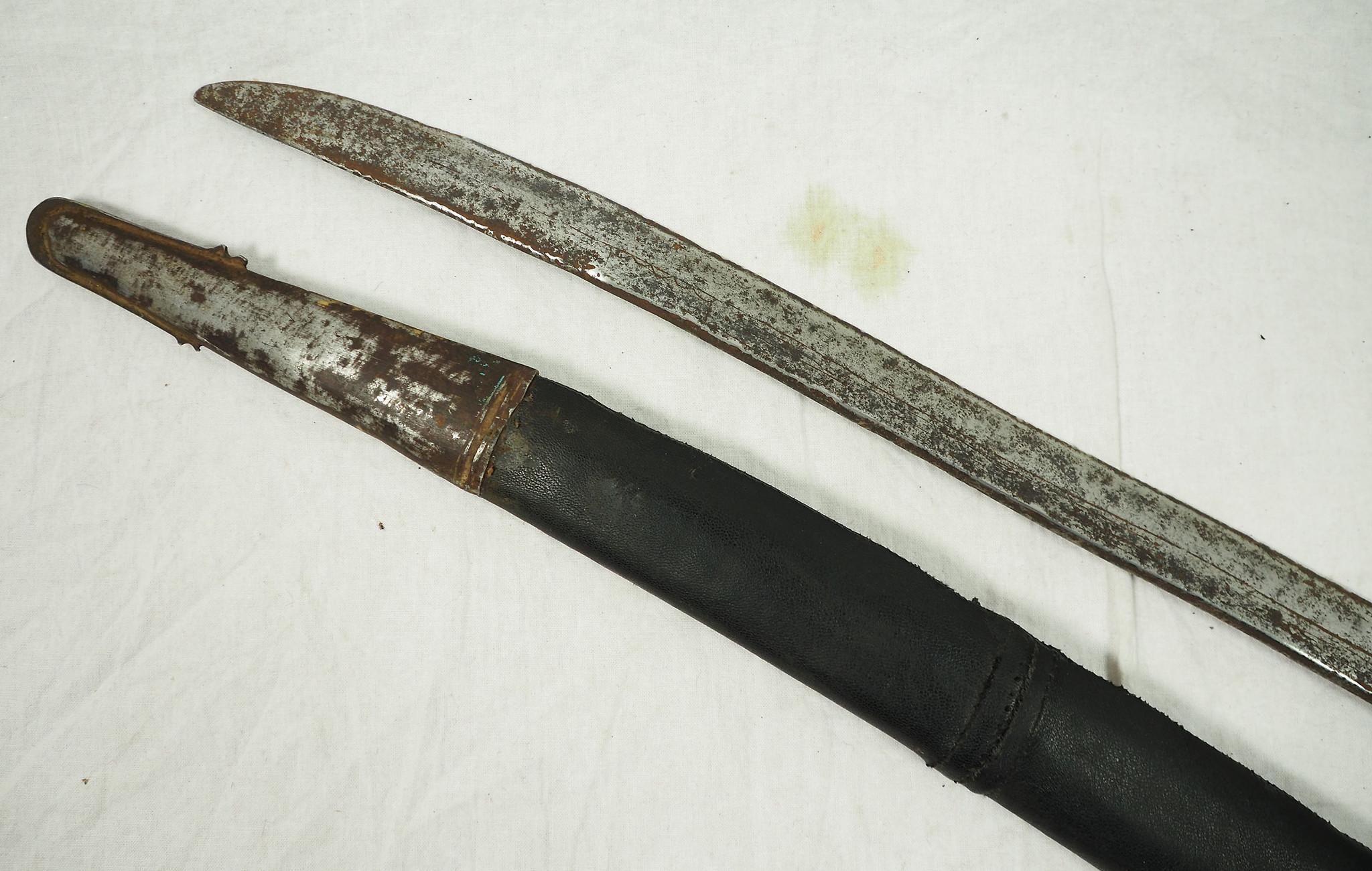 Antique islamic Sword Shamshir from Afghanistan No: 19/H