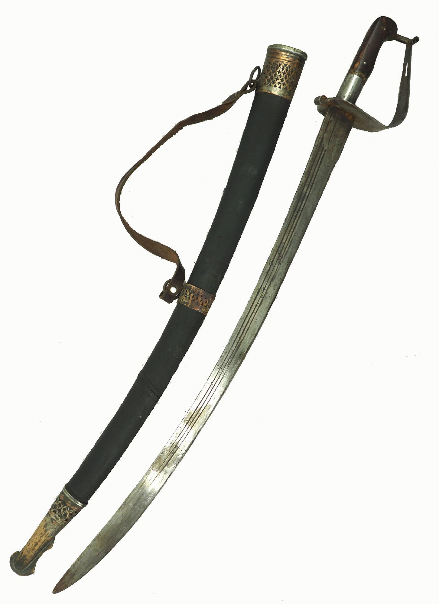 Antike Säbel messer schwert shamshir sword Knife aus Afghanistan Nr:19/J