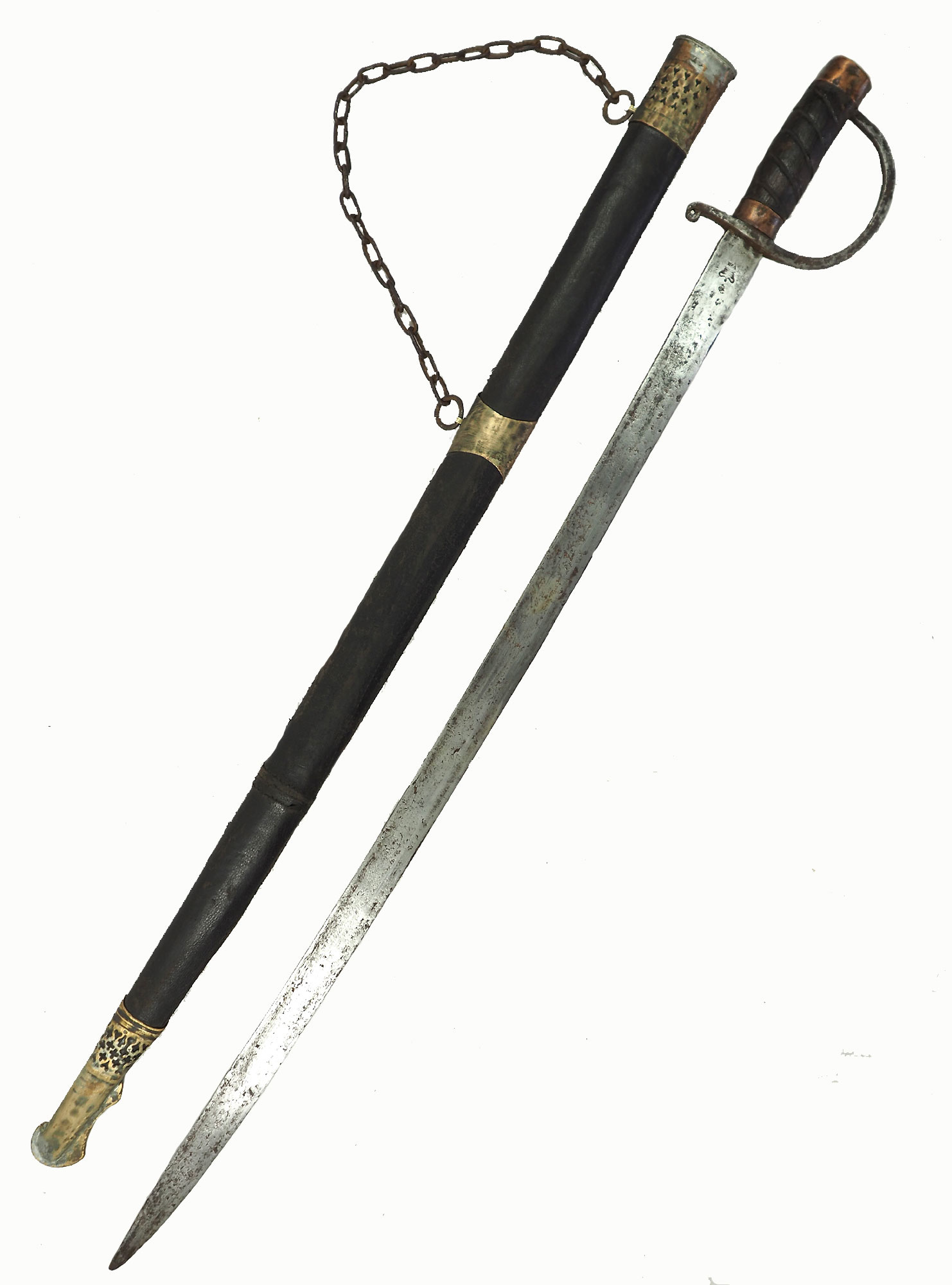 Antike Säbel messer schwert shamshir sword Knife aus Afghanistan Nr:19/ U