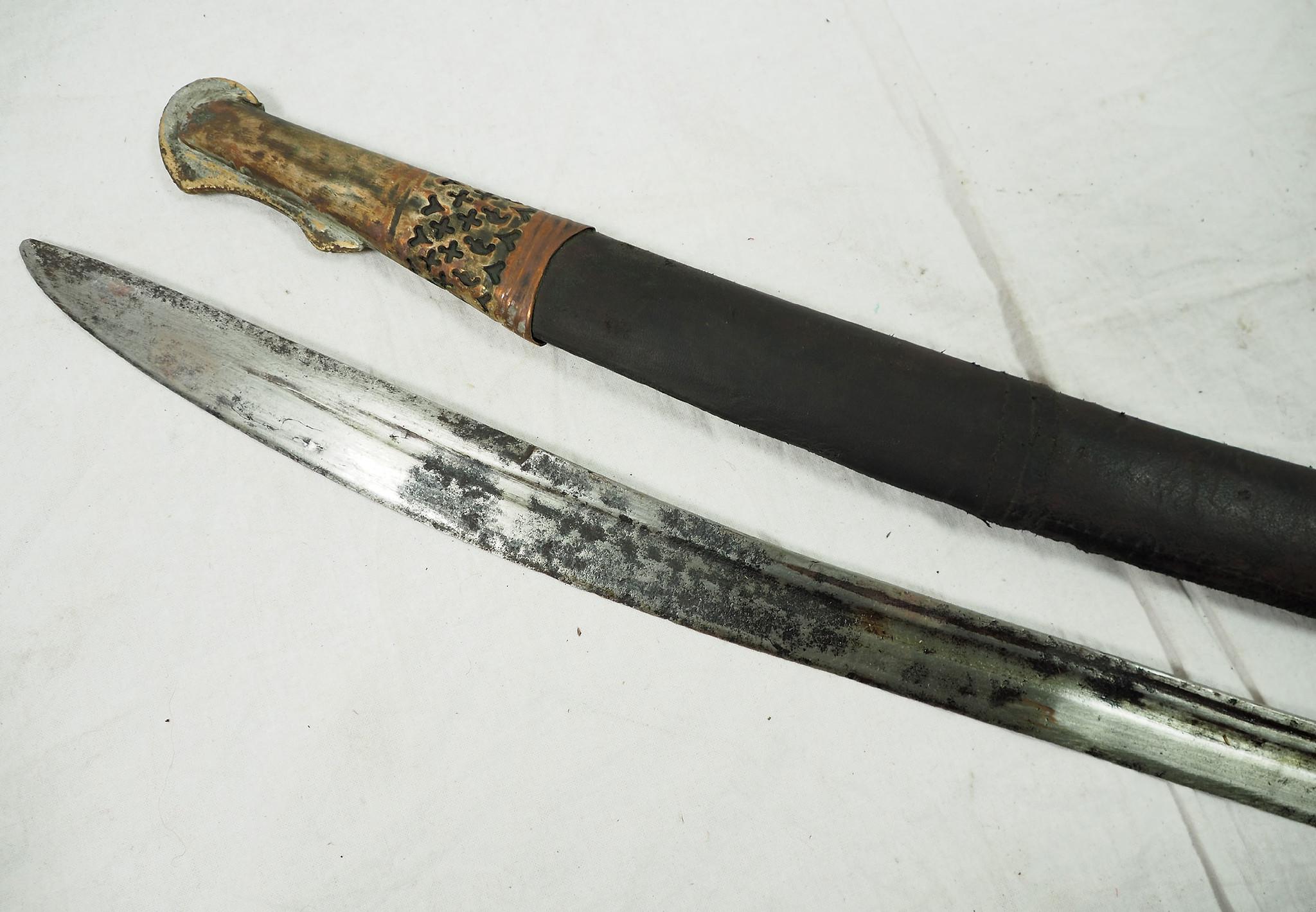 Antique islamic Sword Shamshir from Afghanistan No: 19/V
