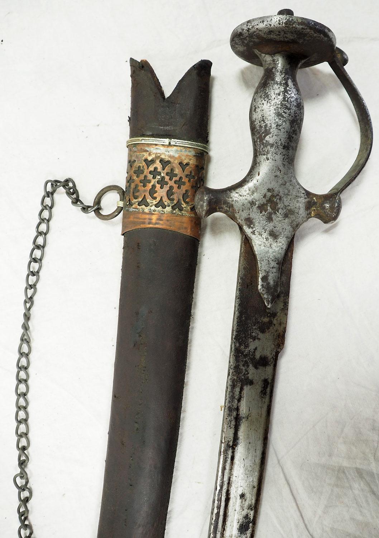 Antike Säbel messer schwert shamshir sword Knife aus Afghanistan Nr:19/ V