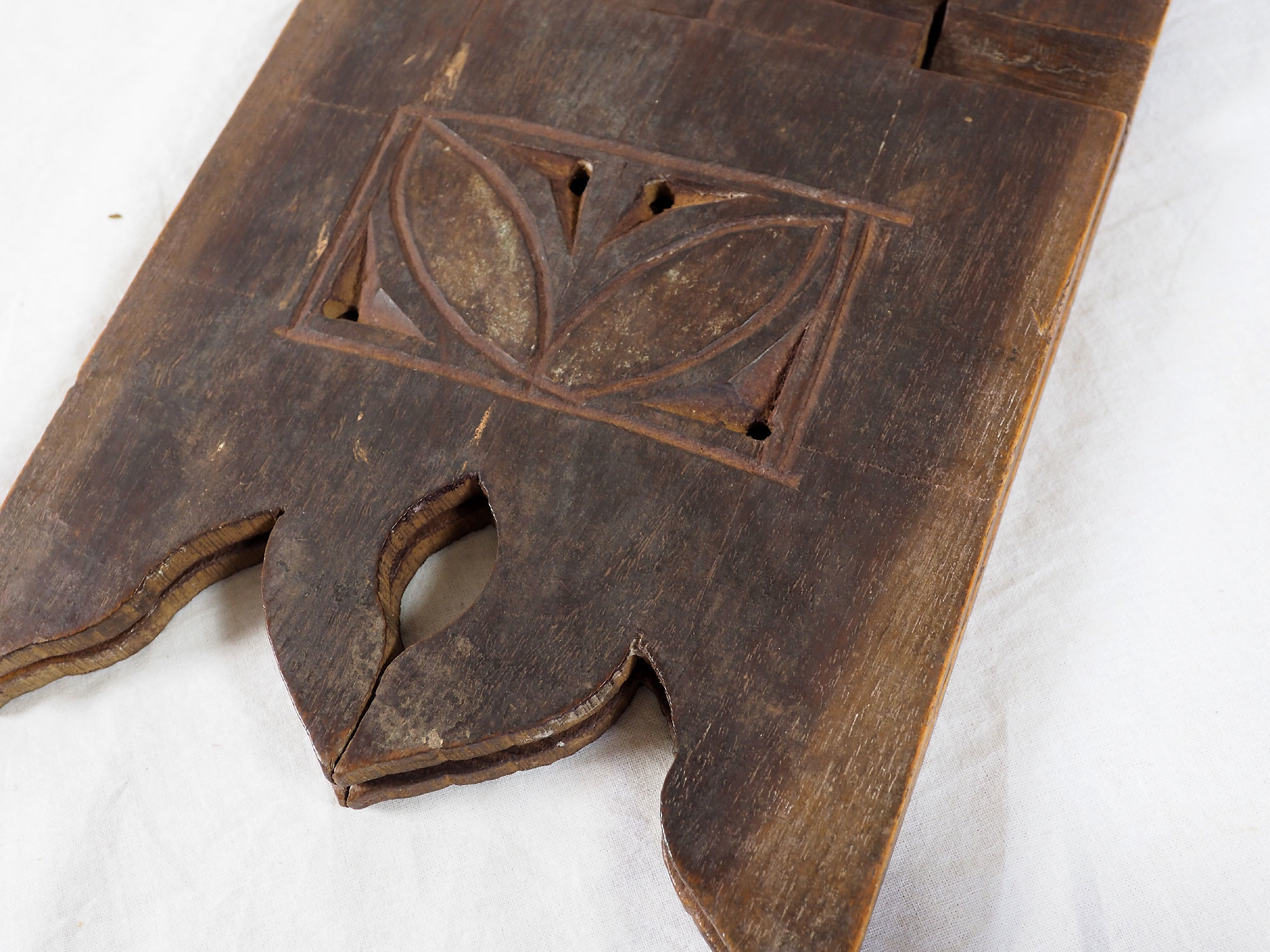 antique islamic Quran stand swat valley  No:W2