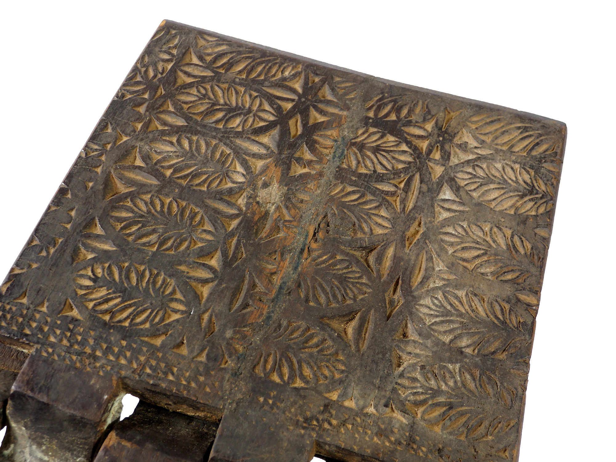 antique islamic Quran stand swat valley  No:W3