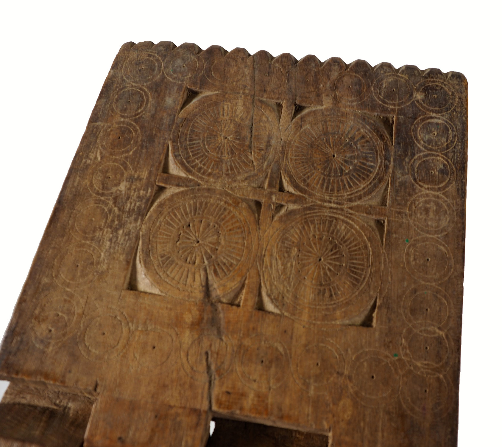 antique islamic Quran stand swat valley  No:W6