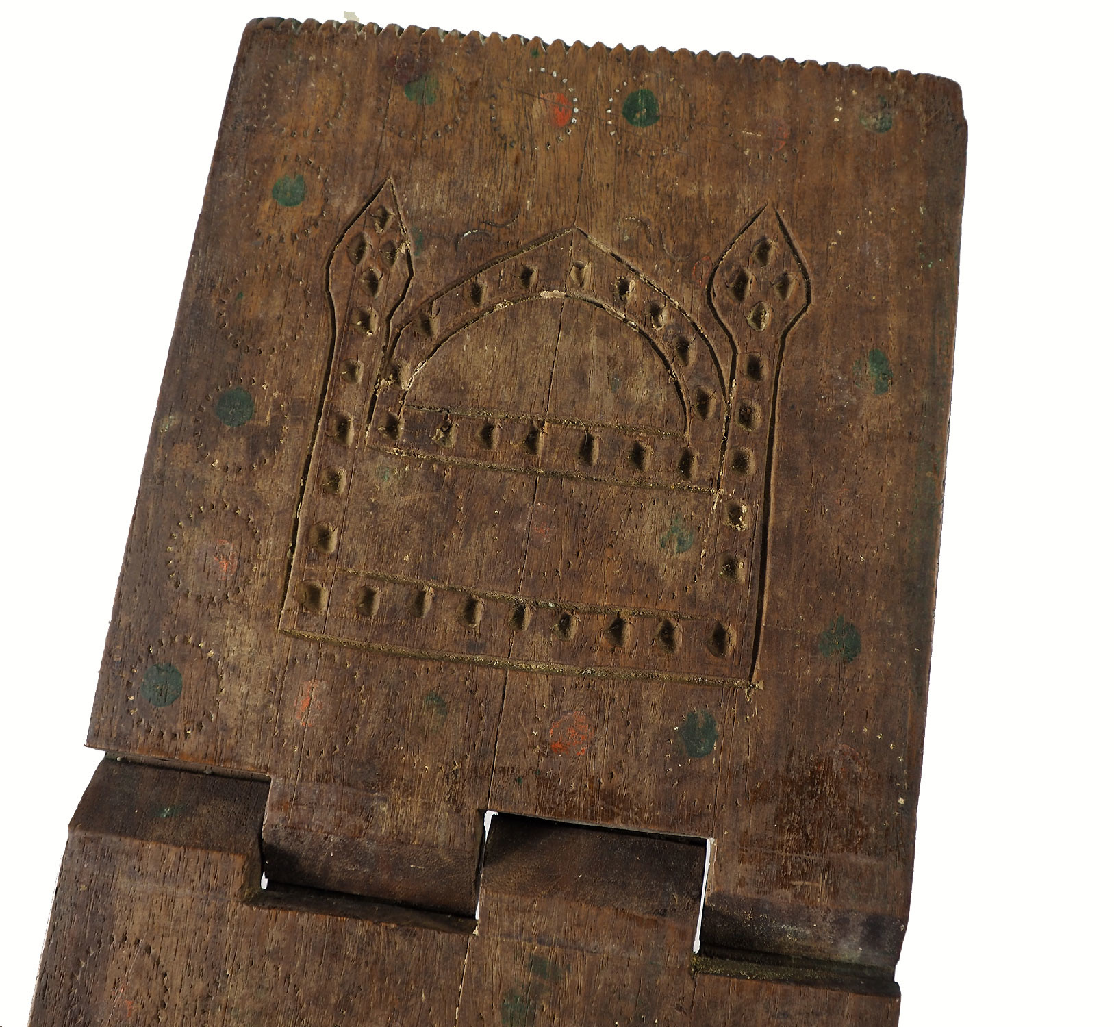 antique islamic Quran stand swat valley  No:W7