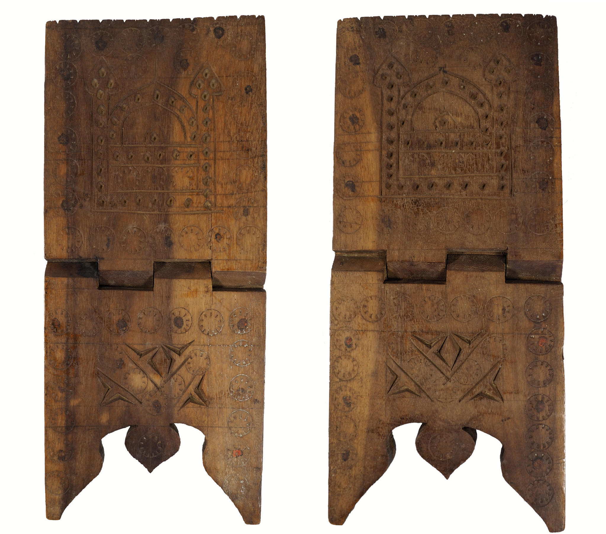 antique islamic Quran stand swat valley  No:W9