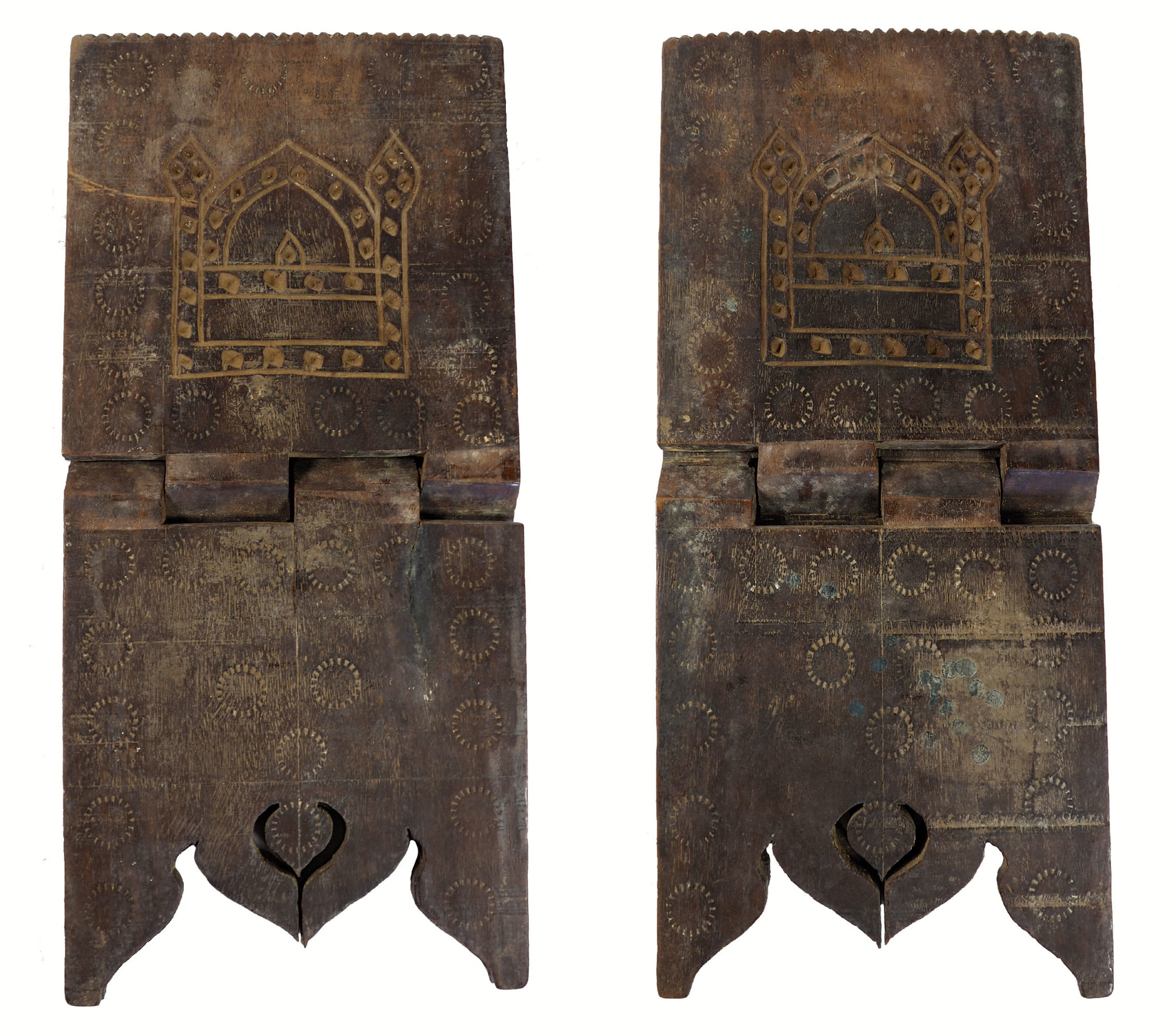 antique islamic Quran stand swat valley  No:W11