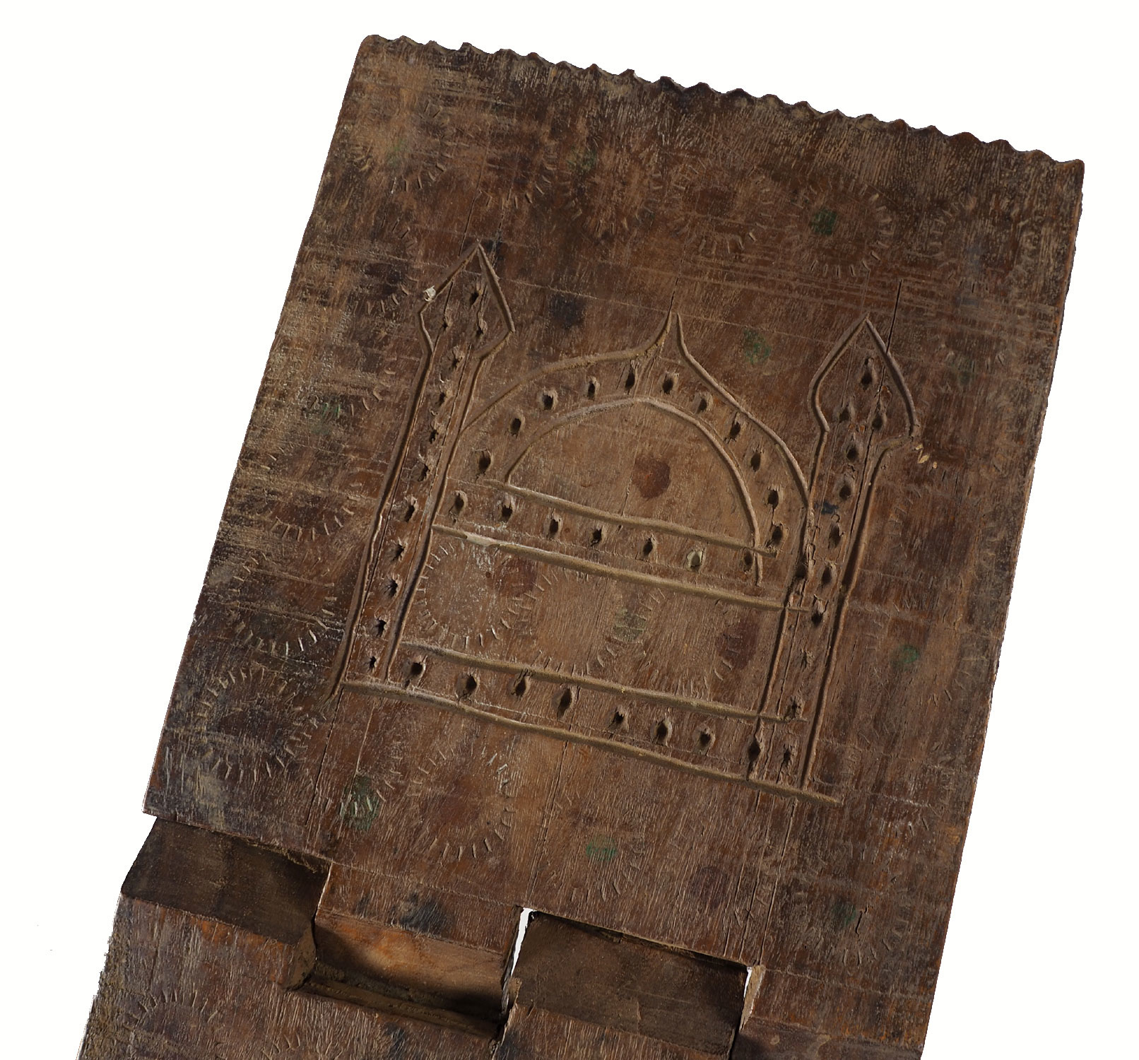 antique islamic Quran stand swat valley  No:W12