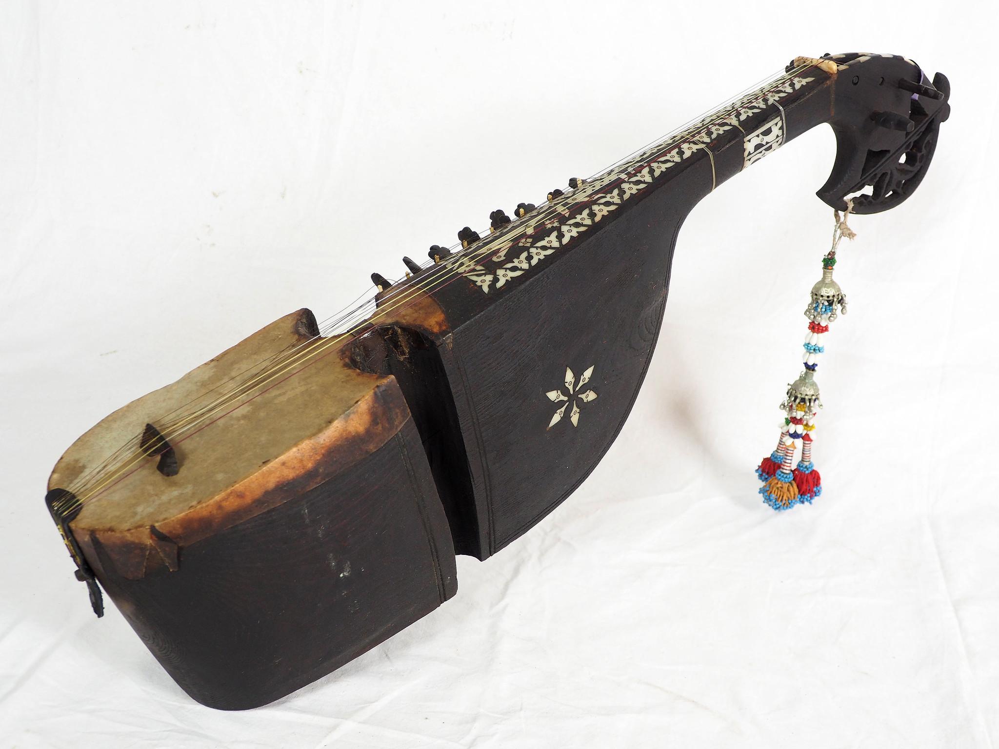 Afghan musikinstrumen Bubab Nr-19/B
