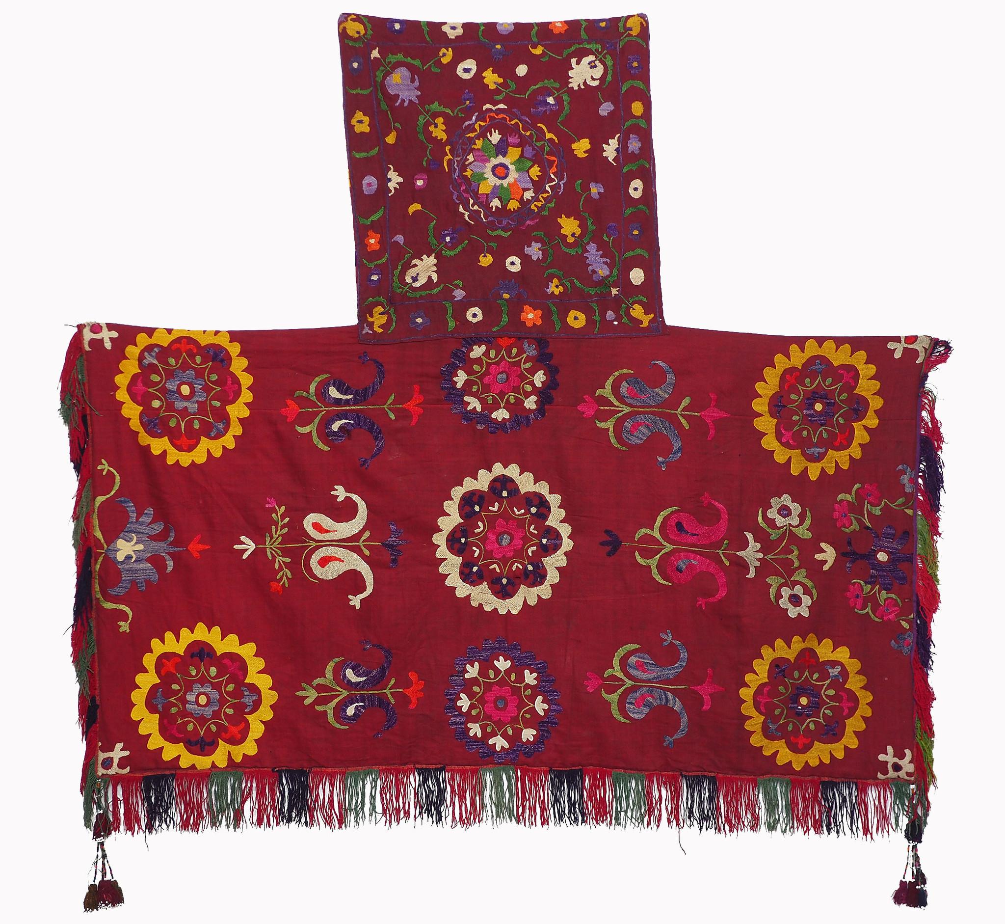Suzani Wedding Camel flank wandteppich zelttasche Uzbek IT