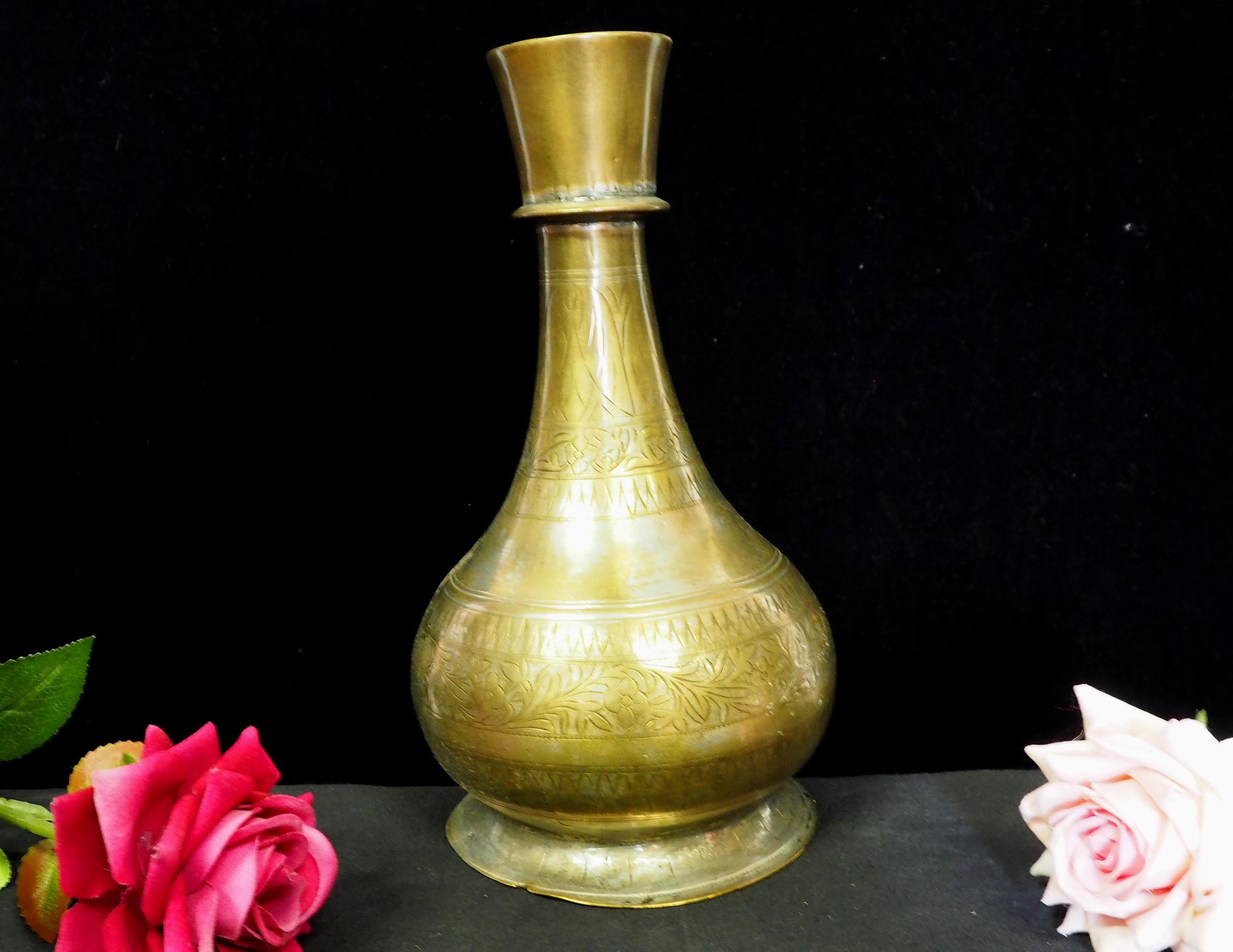 antik Massiv islamische Messing Wasserpfeife shisha Hookahs Schischa nargile Kalian aus Afghanistan Nr:19/9